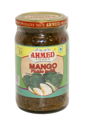 AHMED Mango Pickle in Oil | Iowa African Market