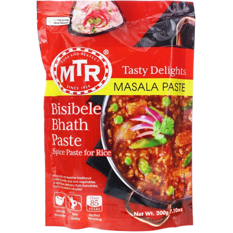 MTR Bisibele Bhath Paste   Iowa African Market