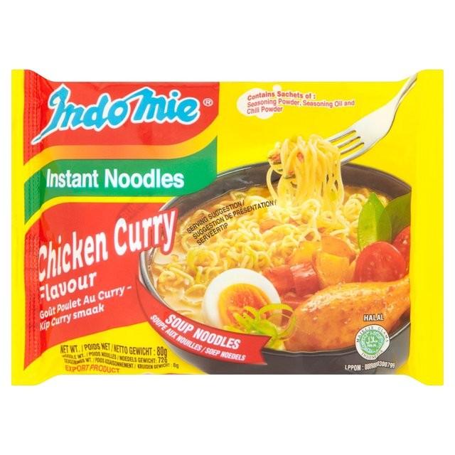 IndoMie Chicken Curry Instant Noodles | Iowa African Market